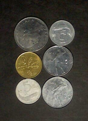 Small lot of coins from Italy (25g)