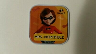 New Woolworths Disney Words Collectibles Tiles Pixar Incredibles Mrs Incredible