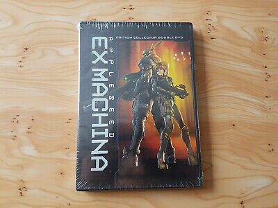 Dvd Manga Appleseed Ex Machina Édition Collector 2 Dvd Neuf Sous Blister
