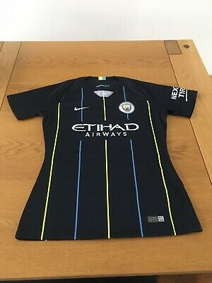 Brand New Without Tags Manchester City FC 2018/19 Nike Away Shirt Small Child