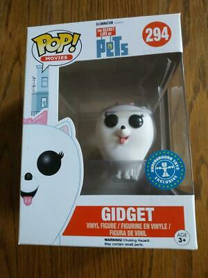 Figurine Funko POP! Movies The Secret Life of Pets 294 Gidget Flocked