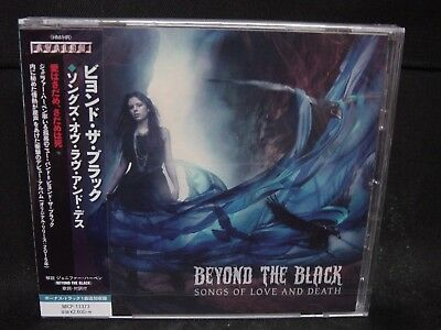 BEYOND THE BLACK Songs Of Love And Death + 1 JAPAN CD Saphir Symphonic Metal