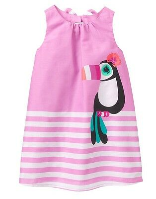 NWT Gymboree JUNGLE BRIGHTS sz 3T or 4T Toucan Smiles for DaysTee /& Shorts NEW