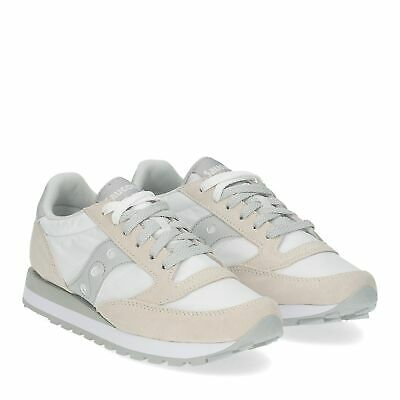 SAUCONY jazz low white grey