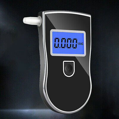 Alcohol Breathalyser Portable Breath Tester Accurate Digital Display Lightweight