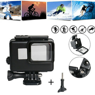 Waterproof Diving Protective Housing Shell under water 45m For GoPro Hero7/6/5 B