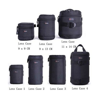 Lowepro Lens Case Bag waterproof photo pouch For Standard Zoom Lens Black