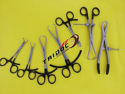 Set 7 Pcs  Orthopedic Bone Reduction Forceps, Bone Holders Orthopedic Surgery