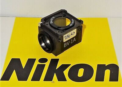 Nikon BV-1A Fluorescent Microscope Filter Cube for Labophot, Optiphot, Microphot
