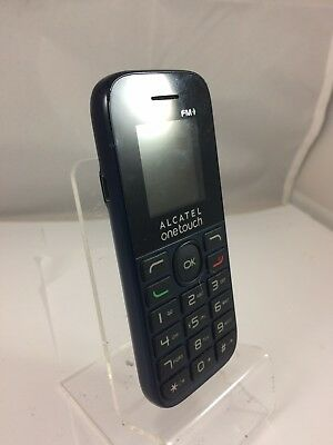 Alcatel One Touch 1013x - Unknown Network - Blue - Mobile phone - Handset