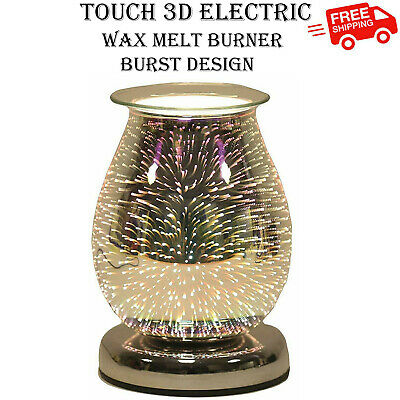 Aroma Accessories 16cm Touch 3D Electric Tart Star Burst Wax Melt Warmer Burner