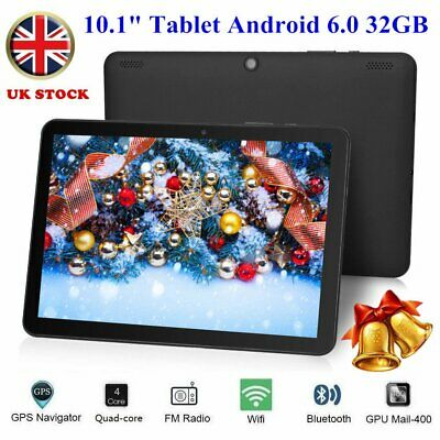10.1 inch Android 6.0 Tablet PC HD 32GB Google Quad-core Dual Camera OTG WIFI NM