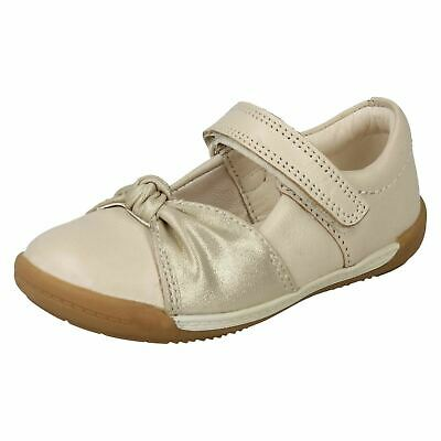 1b2d1fb2b Softly Nia Girls Clarks Real Leather Casual First Pre Walking Cruiser Shoes
