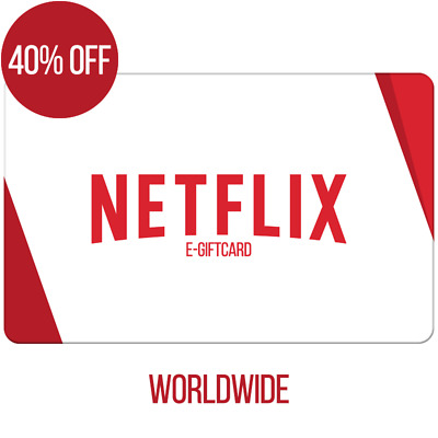 HOT - 40% OFF - 60$ USD Netflix GIFT CARD - US & Worldwide - Email