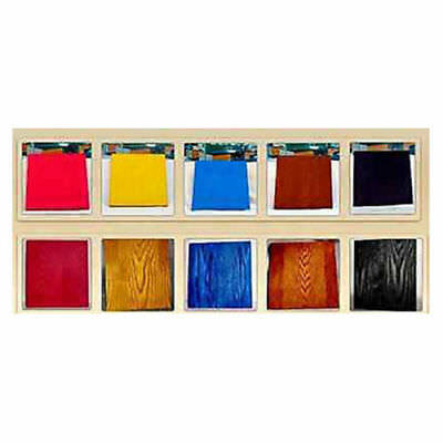 New Powder Wood Stain Color Paint Varnish Craft Hardware Home Wood Dye Kit