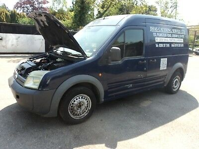ford transit  connect lwb hi top ,spare or repairs enging blown 2008,£400