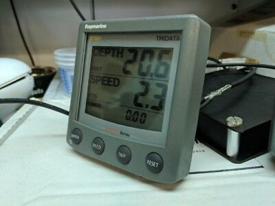 Raymarine  St60+  Tridata  Display , No Sun Cover ,,tested !!!!!