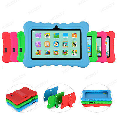 """XGODY 7"""" Android 4.4 Tablet PC for Kids Bundle Case 8GB Dual Camera Quad-core"""
