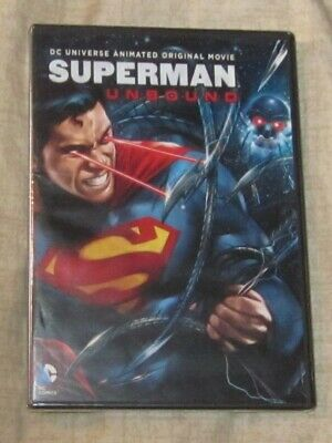 Superman Unbound Dc Universe Animated Original Movie Dvd Brand New Free Shipping