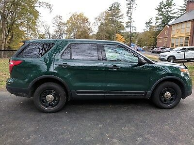 2013 Ford Explorer police interceptor ford explorer 2013