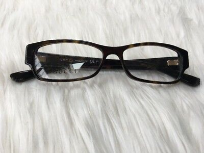 286b7e37d84 New Authentic Gucci GG3201 807 Brown Tortoise 51 mm Italy Frame Eyeglass GG  3201