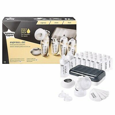 Tommee Tippee Express and Go Electric Breast Pump Set