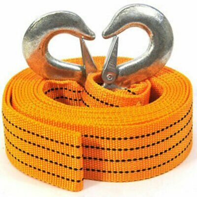 5 TONNE 4M Car Towing Pull Rope Strap Rope Belt Heavy Duty Car Van Road Recovery