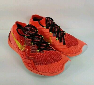 online store 0ffd4 297fb Nike Free 3.0 Flyknit Mens Running Shoes University Red Crimson 718418-006  10.5