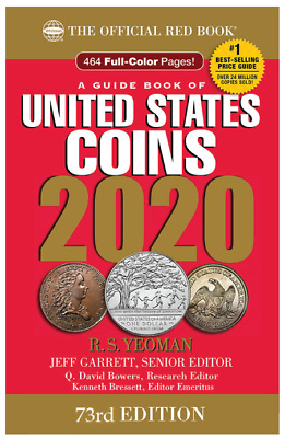 ***Shipping*** 2020 Redbook - Guide Book Of United States Coins - Spiral Bound