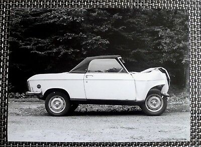 Photo Automobile Peugeot, Service photo Sochaux, Crash Test peugeot 204 304 cab