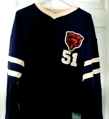 meet a7f6c 42a1a CHICAGO BEARS #51 Dick Butkus Throwback Pullover Jersey Style* Size Med