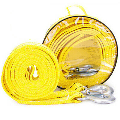 4 Meters 5 Ton Car Trailer Winch Rope Durable Outdoor Rope Manual Car Trailer AU