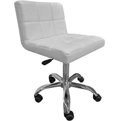 Stylish Quilted Hydraulic Stool Beauty Therapy Massage Chair
