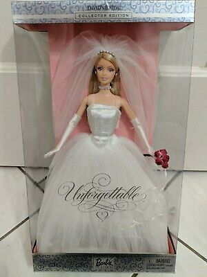 Barbie David's Bridal Unforgettable Blonde Doll