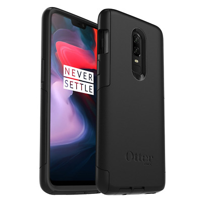 OtterBox Commuter Series Cell Phone Case for OnePlus 6 - Black