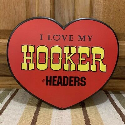 Hooker Headers I Love Hot Rod Garage Metal Gas Coupe Rat Rod Ford Chevy Exhaust