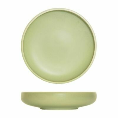 4x 2900ml Share Bowl Earth Green Round Big Moda Lush Cafe Commercial NEW