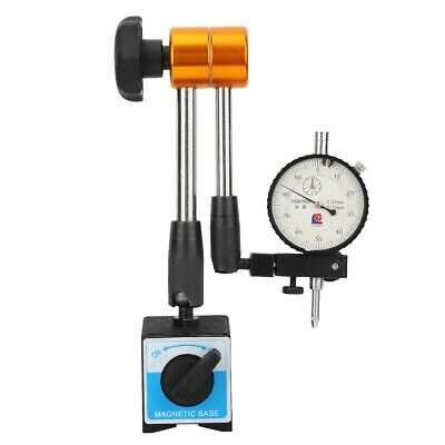 Flexible Magnetic Base Holder Stand For Dial Test Indicator Universal Tool New