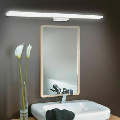 Acrylic Modern Bathroom Vanity LED Light Front Mirror Toilet Wall Lamp Fixture