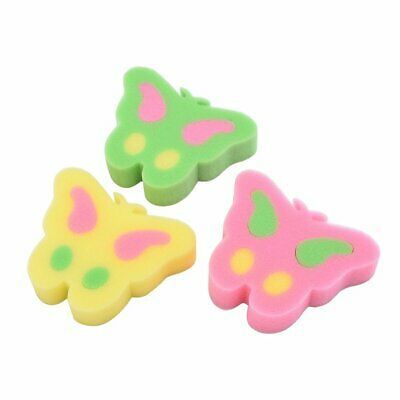 Cute Butterfly Kitchen Dish Washing Brush Bowl Pot Pan Wash Cleaning Sponges A@Z