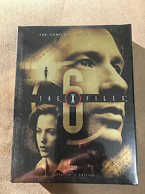 The X-Files - The Complete Sixth Season (DVD, 2002, 6-Disc Set) NEW SEALED