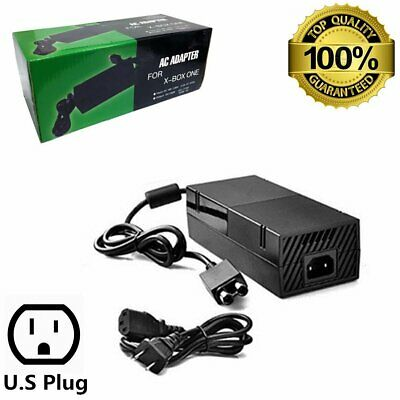 AC Adapter Charger Power Supply for Microsoft Xbox One Console Brick 500G 1TB HK