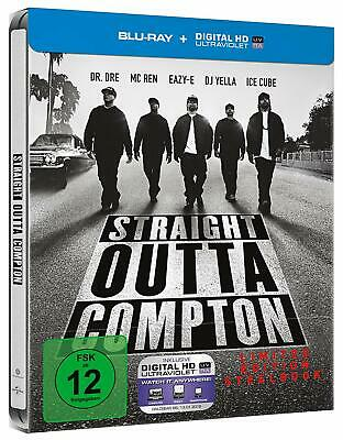 Straight Outta Compton: (Limited Steelbook)[Blu-ray/NEU/OVP]