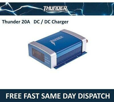 Thunder 20A Dc Dc Charger Mppt 300W Smart Battery Dual Solar  Dc To Dc