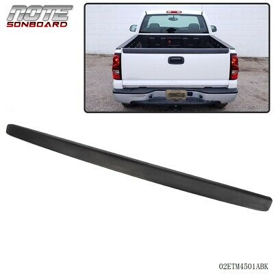 For 1999-2007 Chevy Silverado GMC Sierra SL Black Tailgate Moulding Protector