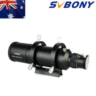 "SVBONY 60mm Deluxe Guide Scope Kits+1.25""Double Helical Focuser For CCD Astro AU"
