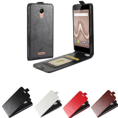 #3 Magnetic Retro Wallet Card Vertical Leather Flip Case Cover  For Cellphone