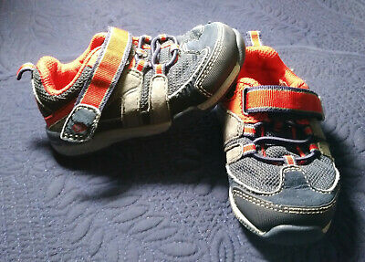 8899bf516d65 STRIDE RITE SR Moss Boys Navy Red Sneaker Shoes Size 11.5M -  3.99 ...
