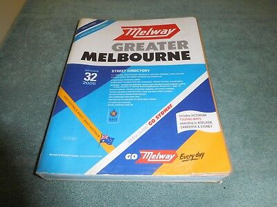 MELBOURNE Street Directory -' Melway No 32 ' 2005