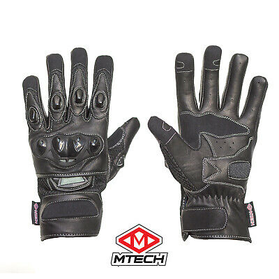 MTECH Motorbike Summer gloves Mesh Gloves Leather Summer  Gloves Perforated